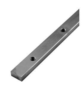 3 tapped rails M6 13 x 6 x 1000 mm