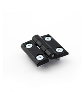 Aluminium hinge for all profiles - except PT and RE, unit = 2 pcs.