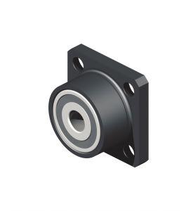 Flange bearing, drive side