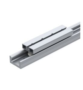 Linear rail with internal guidance LSI 16-60 with linear carriage LWK 16-60