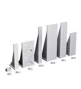 Angle brackets WV 1 to  WV 8