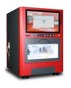 De iMG 1010 biedt een compacte oplossing voor het bewerken van werkstukken tot 100x100x100 mm
