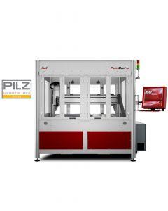 CNC-Milling Machine FlatCom series L 150 standard with closed doors